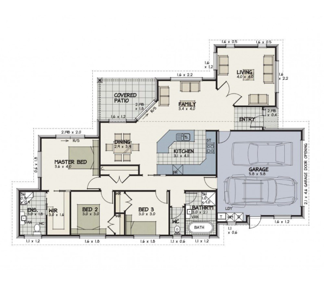 Free House Plans To Urban Homes